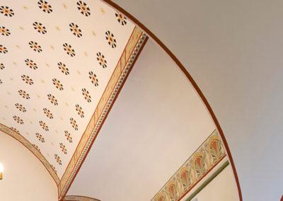 Ravnebjerg kirke: loftdetaljer